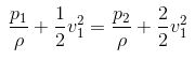 Bernoullis theorem