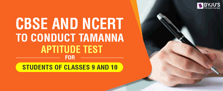 CBSE And NCERT to Conduct TAMANNA for Students of Classes 9 and 10