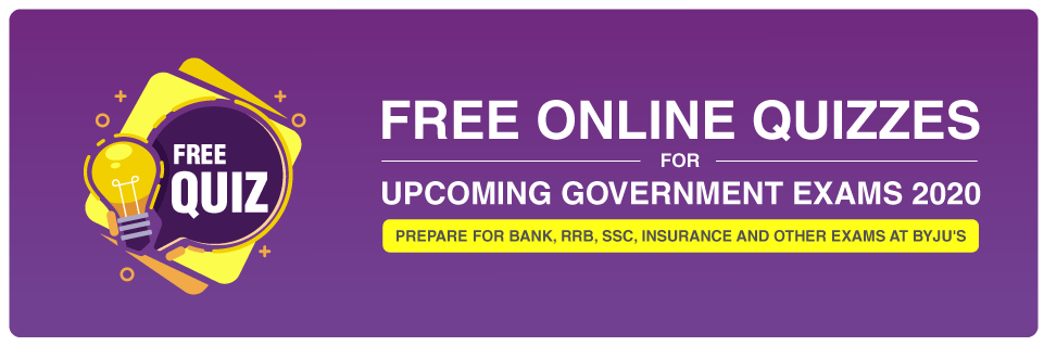 free online quiz for bank exams and other government exams