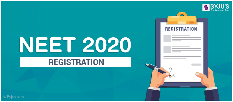 NEET 2020 Registration