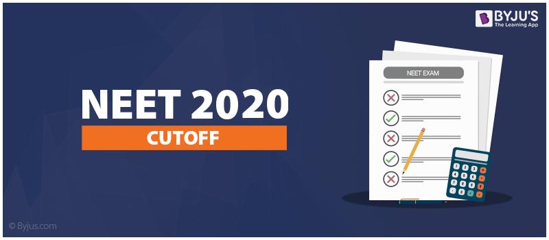 NEET 2020 Cut off