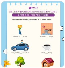 English Worksheets For Class 1 Interesting Worksheets For Kids