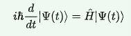 Time-dependent-Schrödinger-general-equation
