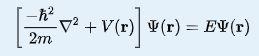 Time-independent-Schrödinger-nonrelativistic-equation