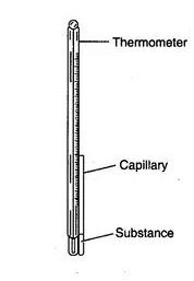 Capillary Tube with Thermometer