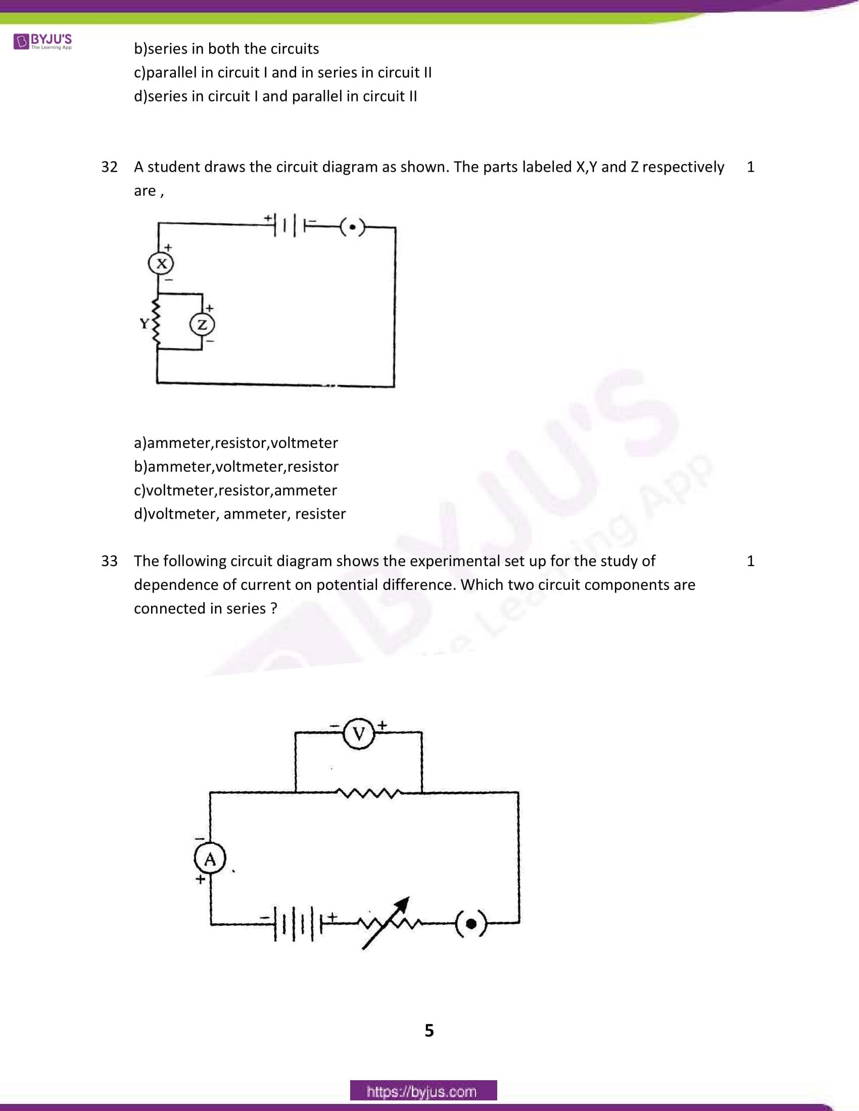 cbse class 10 science sample paper sa 1 set 1