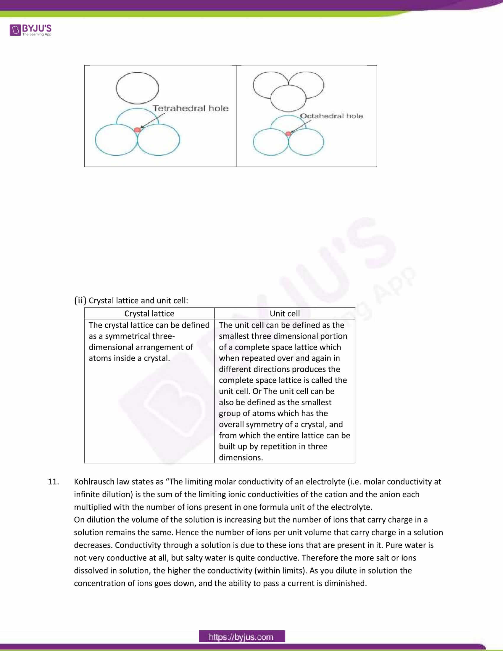 cbse class 12 chemistry sample paper solution set 4