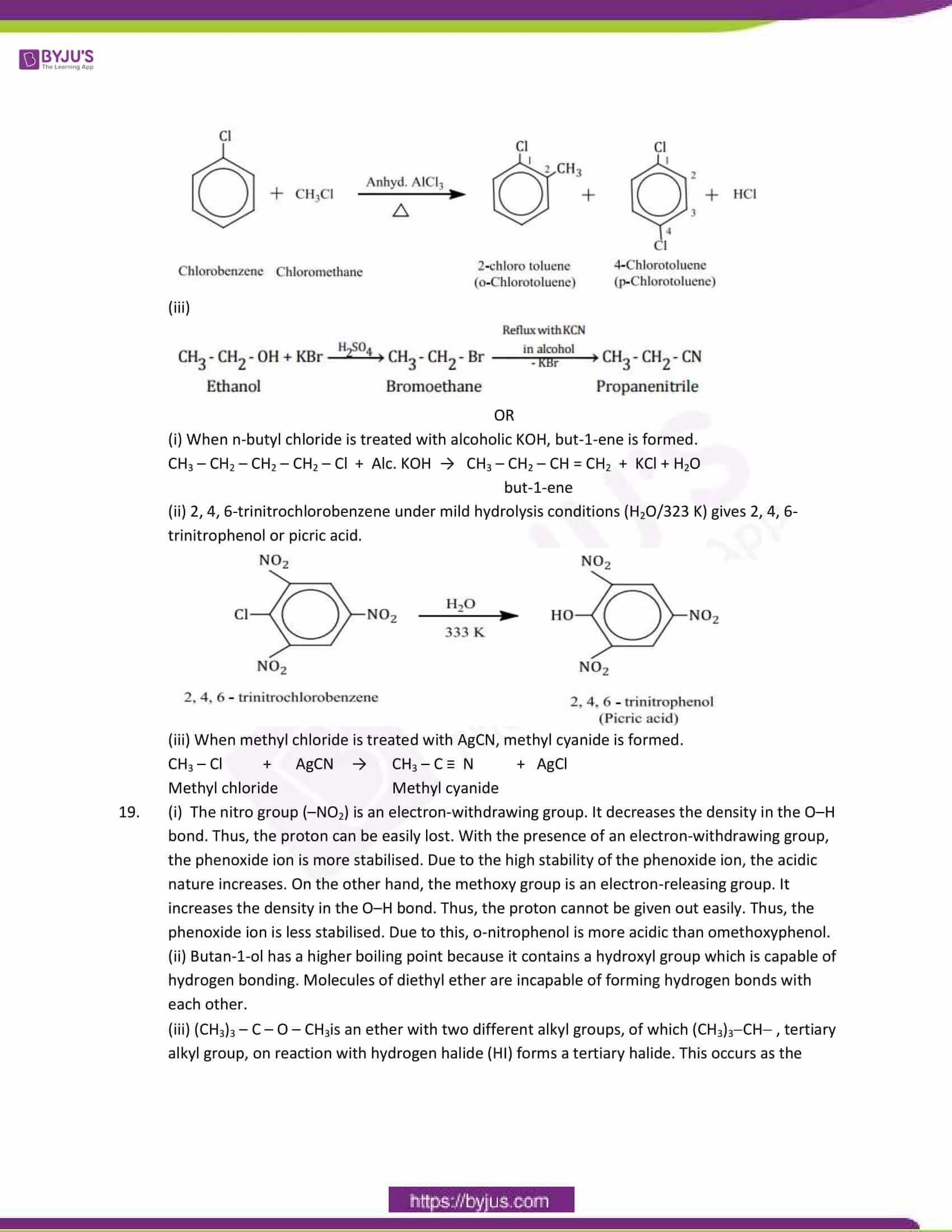 cbse class 12 chemistry sample paper solution set 5