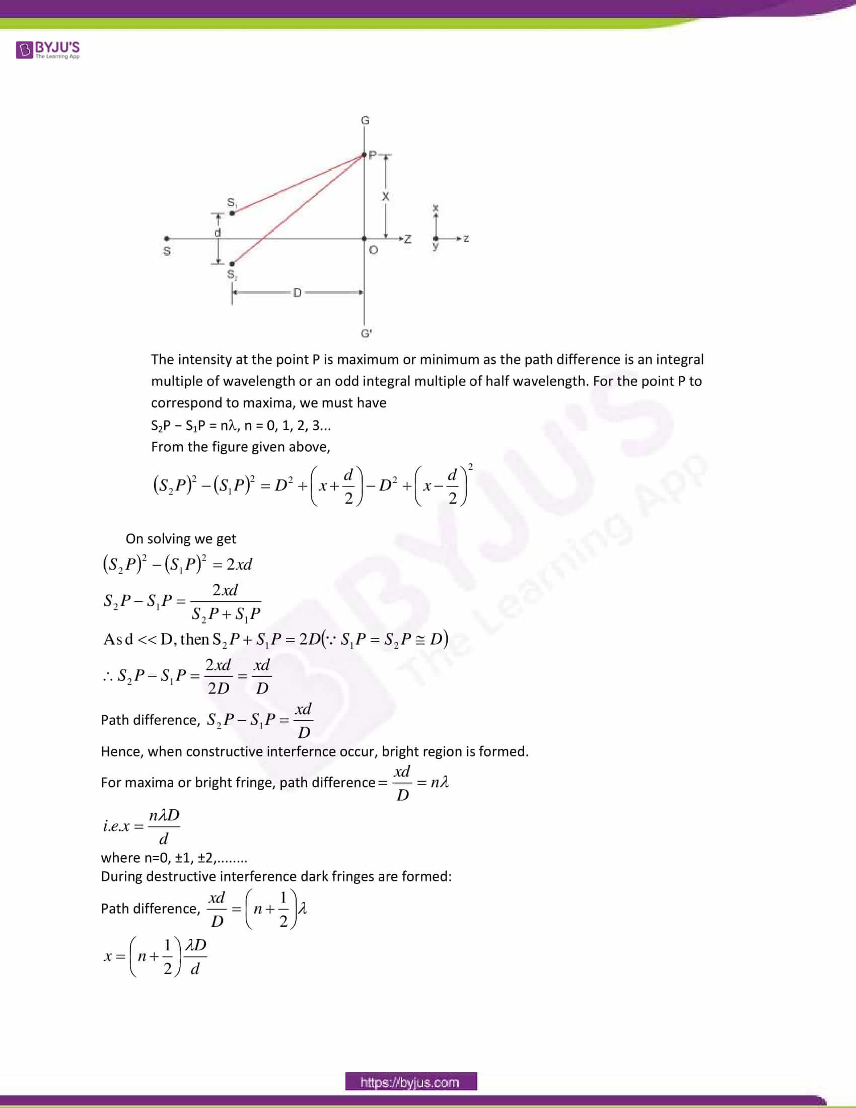 cbse class 12 physics sample paper solution set 1