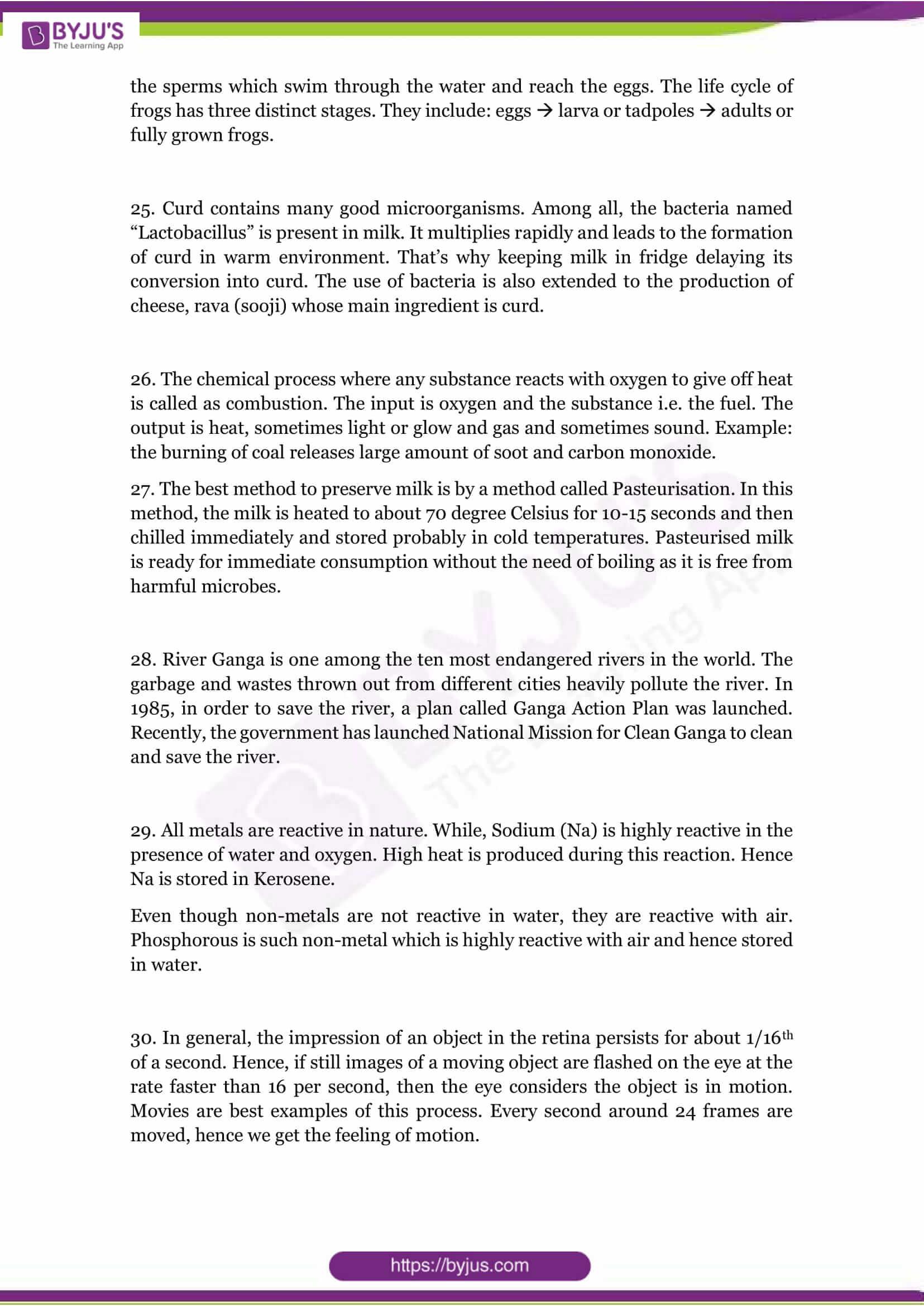 cbse class 8 science sample paper set 1 solution