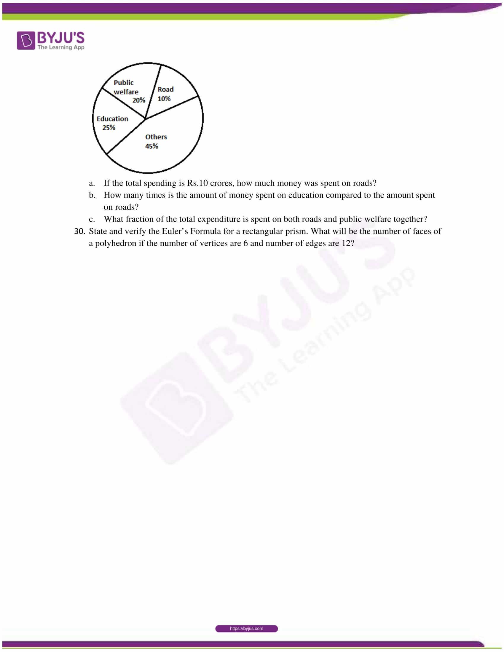 cbse sample paper class 7 maths set 1