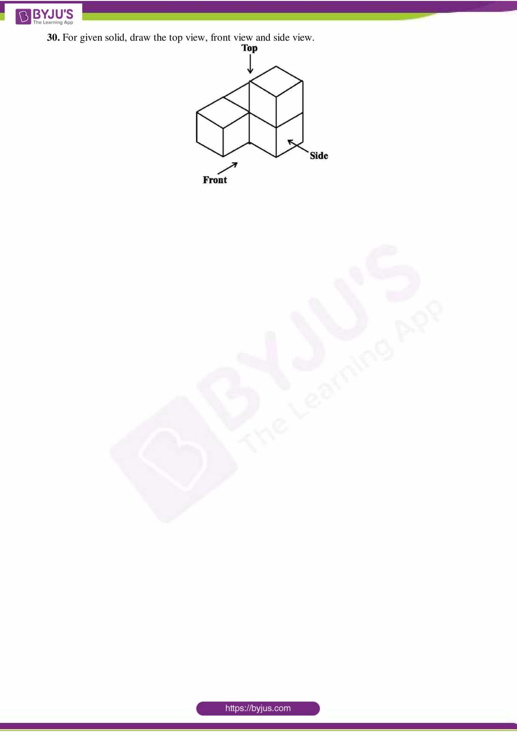 cbse sample paper class 7 maths set 3