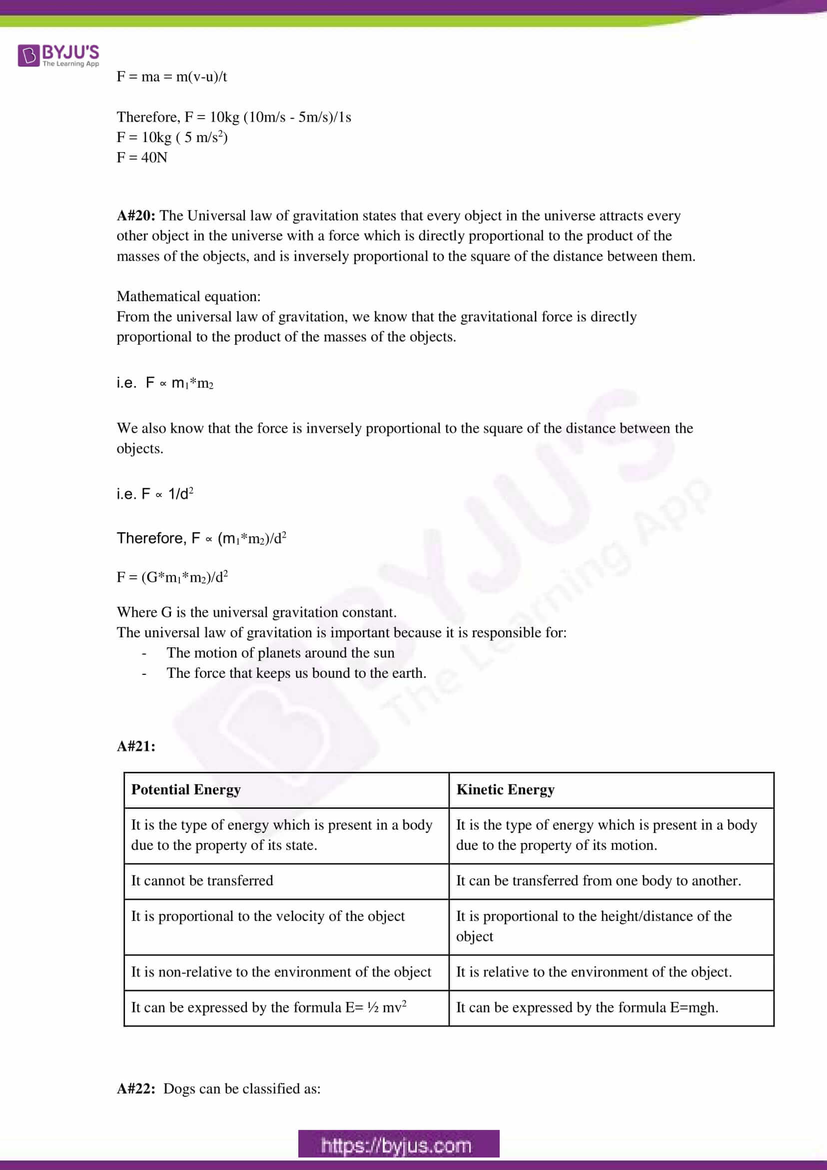 cbse sample paper class 9 science set 3 solution