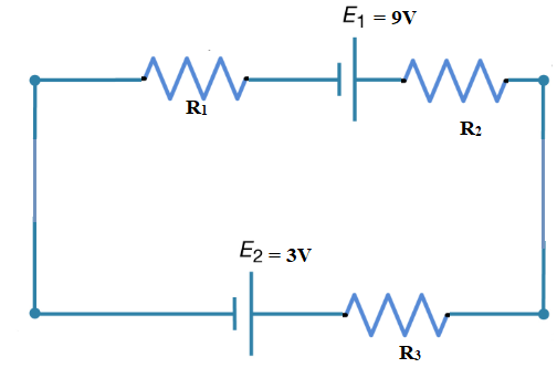 Current through an electrical circuit