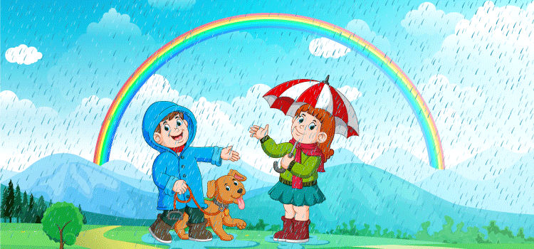Essay on Rainy Day for class 3
