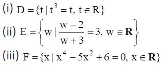 NCERT Exemplar Class 11 Maths Chapter 1-1