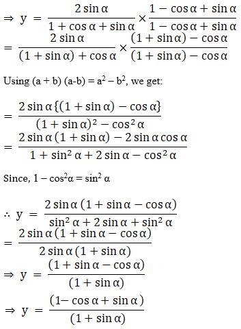 NCERT Exemplar Solutions Class 11 Maths Chapter 3-5