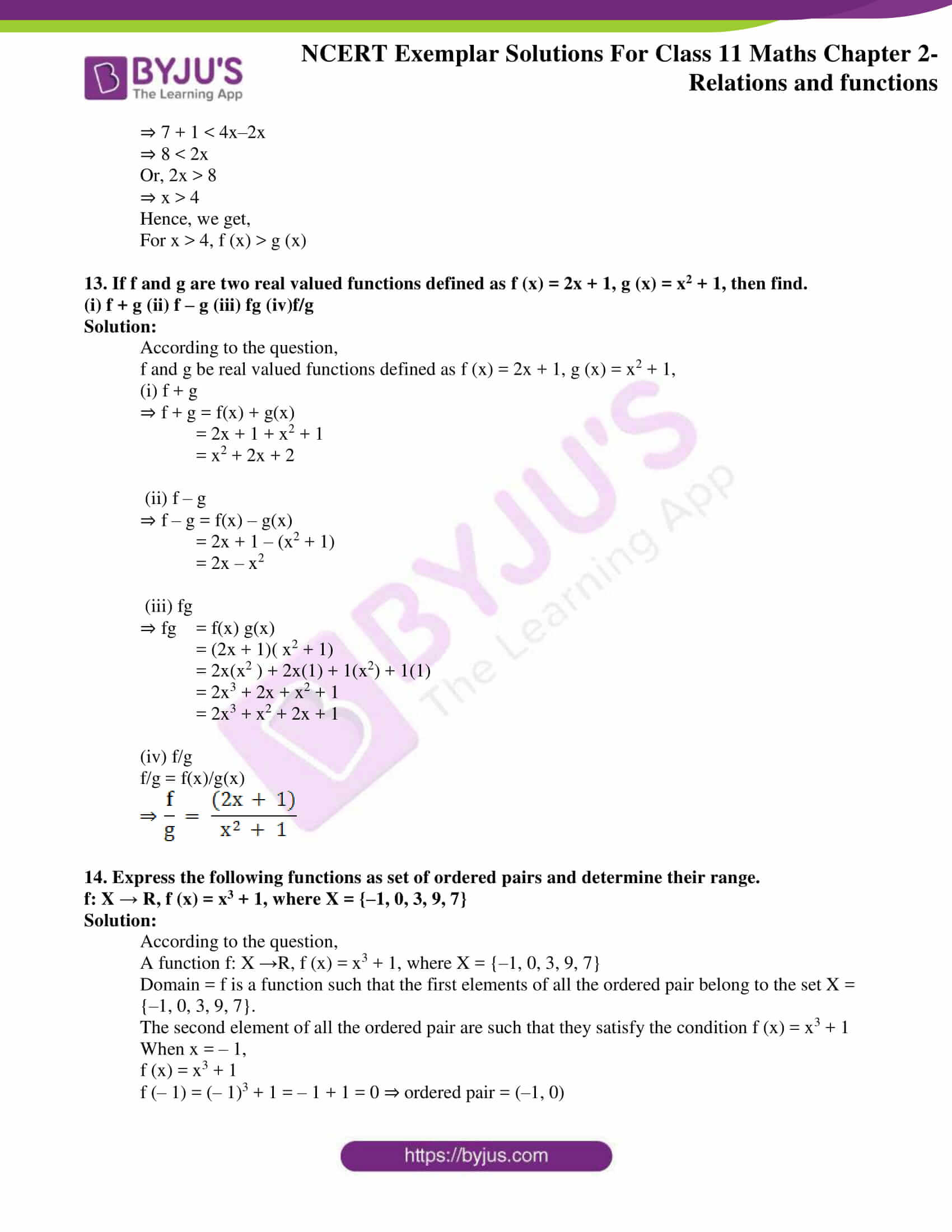 ncert exemplar solutions for class 11 maths chapter 2