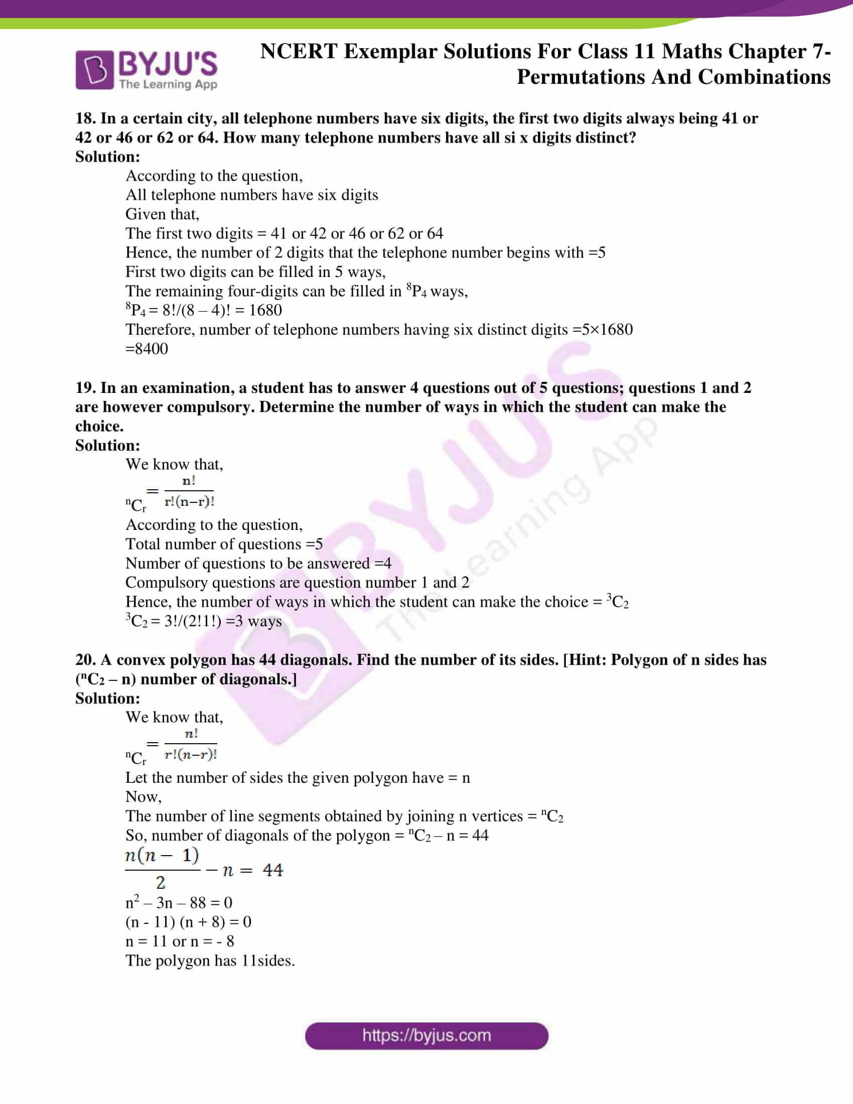 ncert exemplar solutions for class 11 maths chapter 7