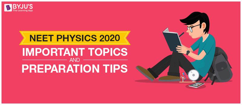 NEET Physics 2020