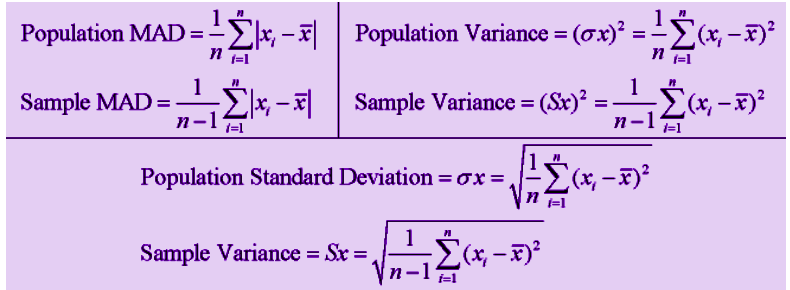 Population and Variance