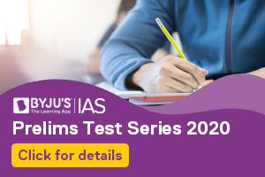 UPSC Prelims Test Series 2020