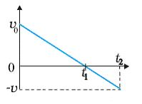 What does this graph indicate about the motion of an object?