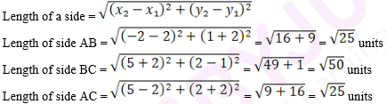 R D Sharma Solutions For Class 10 Maths Chapter 14 Co-ordiniate Geometry ex 14.2 - 20