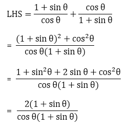 R D Sharma Solutions For Class 10 Maths Chapter 6 Trigonometric Identities ex 6.1 - 21