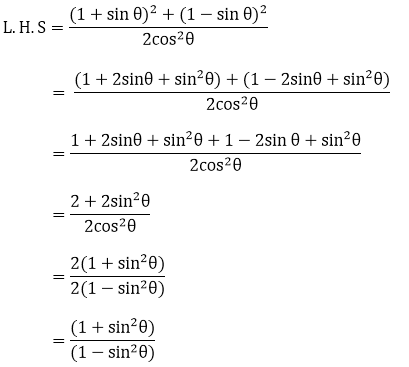 R D Sharma Solutions For Class 10 Maths Chapter 6 Trigonometric Identities ex 6.1 - 23
