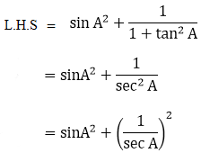 R D Sharma Solutions For Class 10 Maths Chapter 6 Trigonometric Identities ex 6.1 - 4