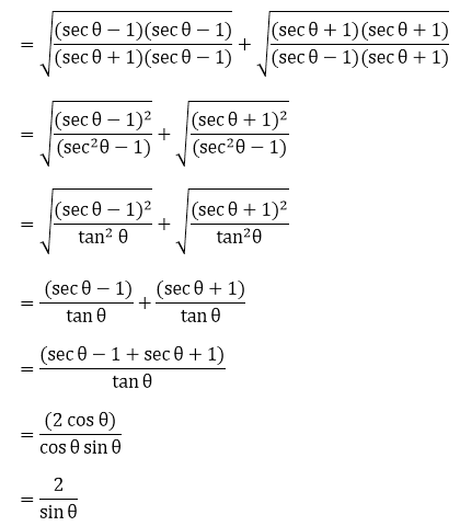 R D Sharma Solutions For Class 10 Maths Chapter 6 Trigonometric Identities ex 6.1 - 52