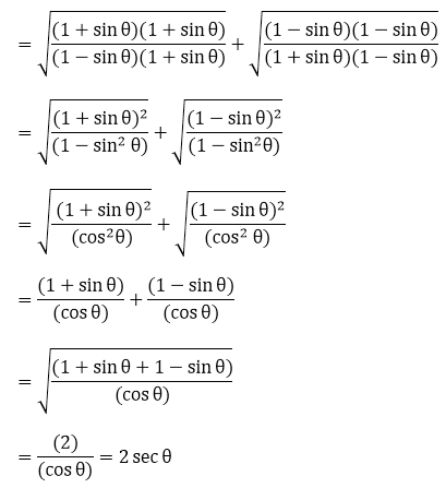 R D Sharma Solutions For Class 10 Maths Chapter 6 Trigonometric Identities ex 6.1 - 54