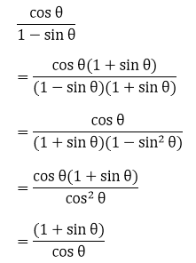 R D Sharma Solutions For Class 10 Maths Chapter 6 Trigonometric Identities ex 6.1 - 1