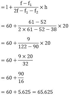 R D Sharma Solutions For Class 10 Maths Chapter 7 Statistics ex 7.5 - 10