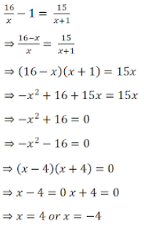 R D Sharma Solutions For Class 10 Maths Chapter 8 Quadratic Equations ex 8.3 - 16