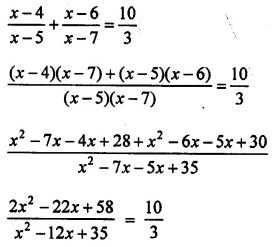 R D Sharma Solutions For Class 10 Maths Chapter 8 Quadratic Equations ex 8.3 - 34