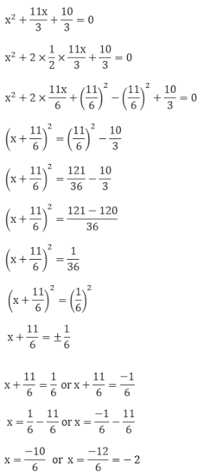 R D Sharma Solutions For Class 10 Maths Chapter 8 Quadratic Equations ex 8.4 - 5
