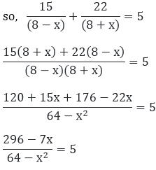 R D Sharma Solutions For Class 10 Maths Chapter 8 Quadratic Equations ex 8.8 - 1