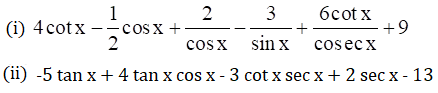 R S Aggarwal Class 11 chapter 28 Ex 28A question 6