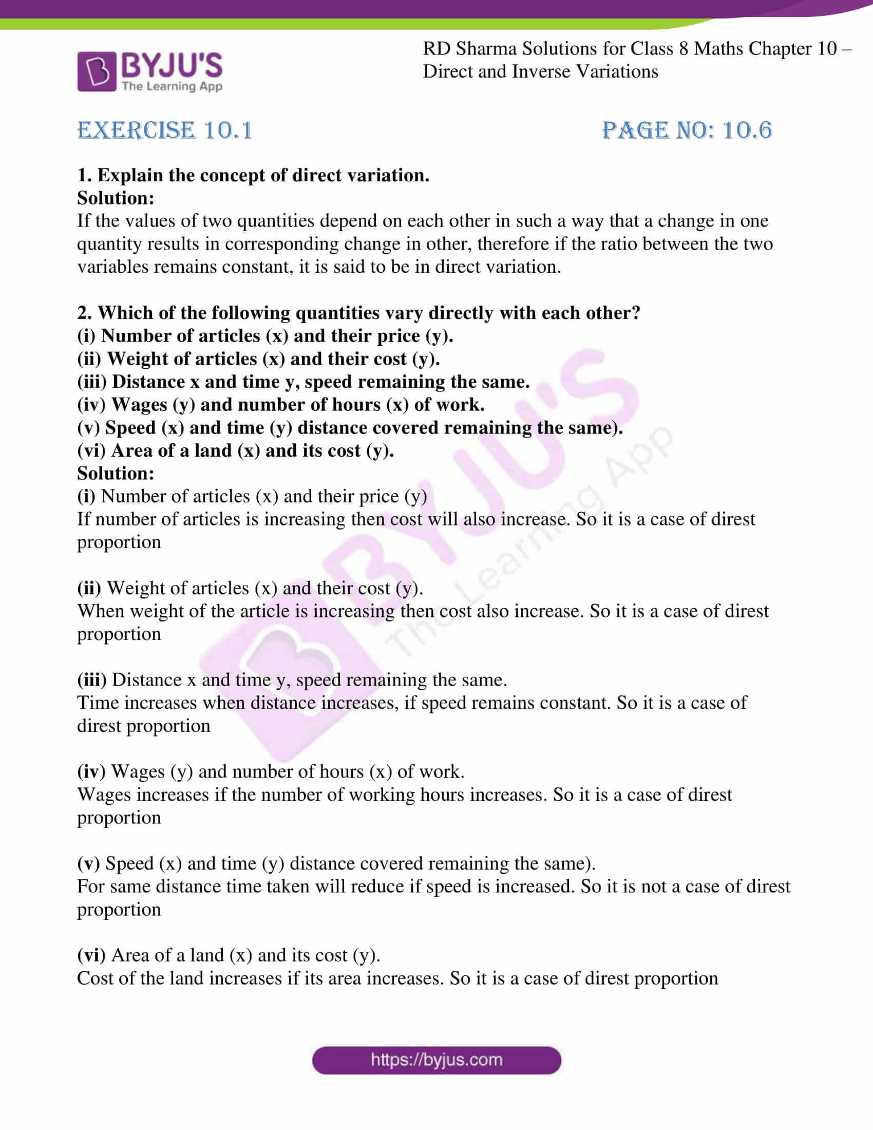 rd sharma class 8 maths chapter 10