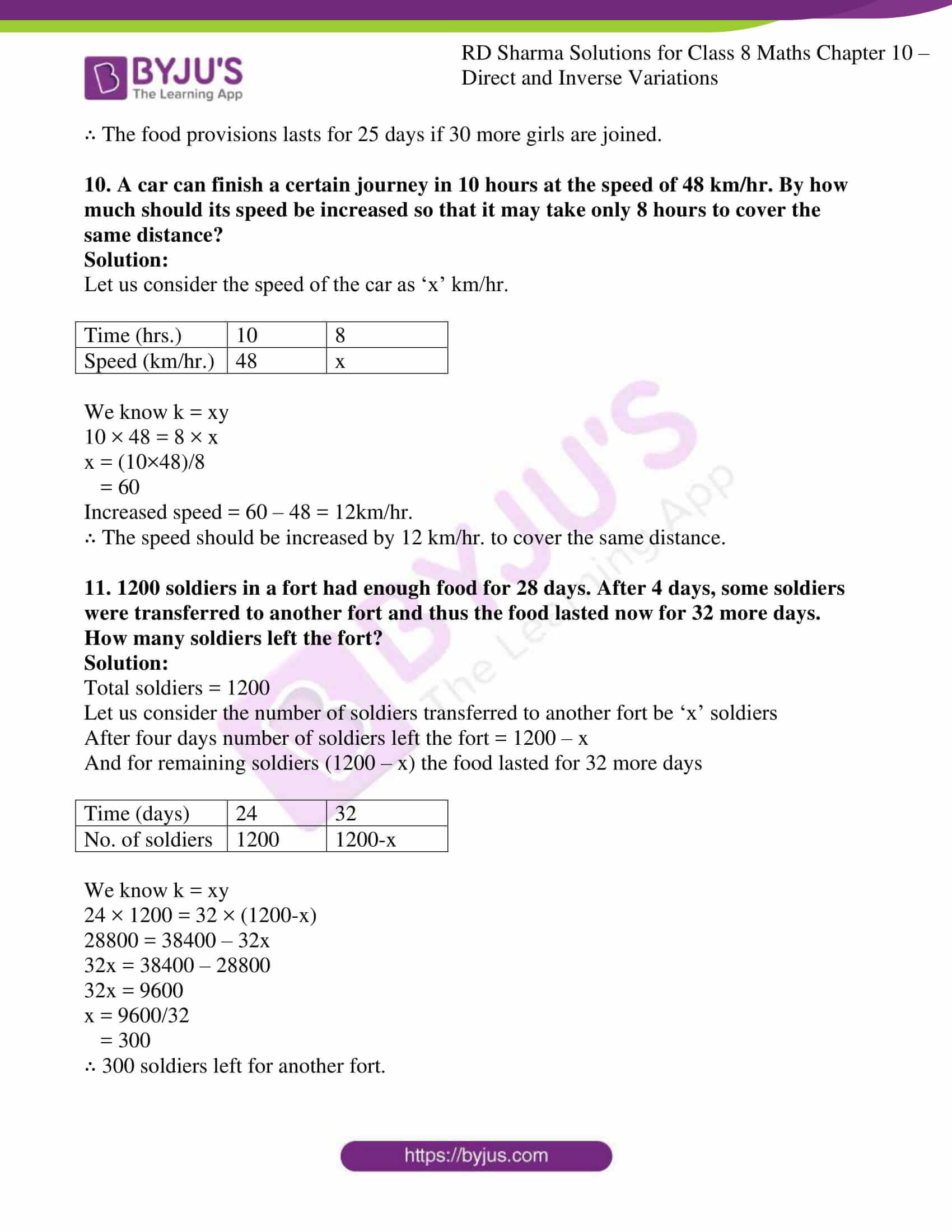 rd sharma class 8 maths chapter 10