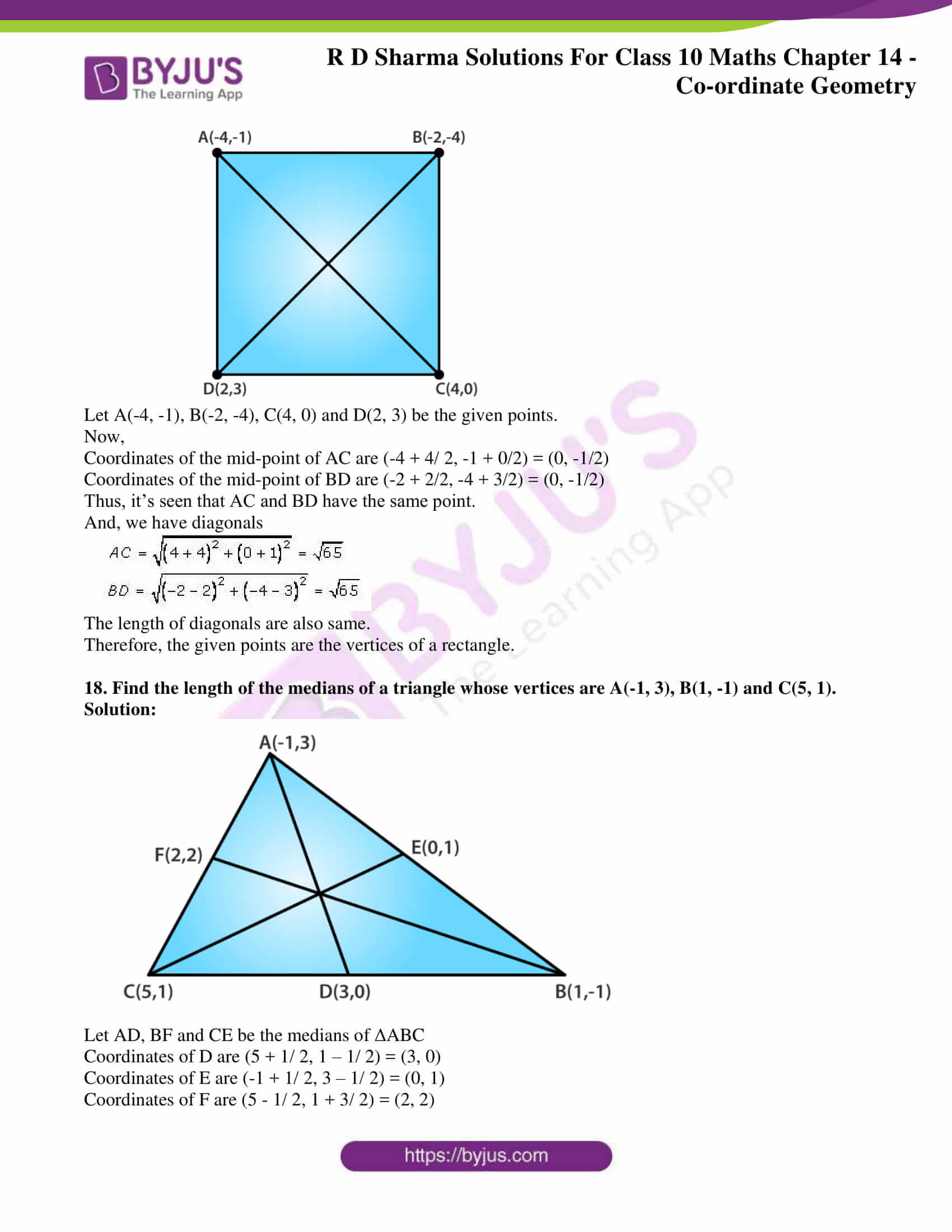 rd sharma solutions class 10 chapter 14 exercise 3