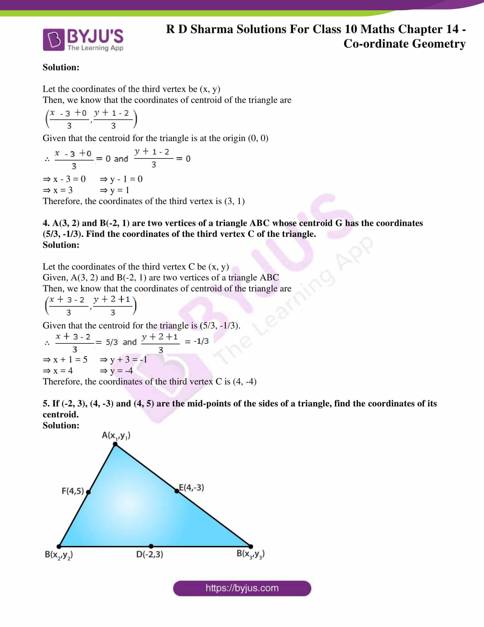 rd sharma solutions class 10 chapter 14 exercise 4