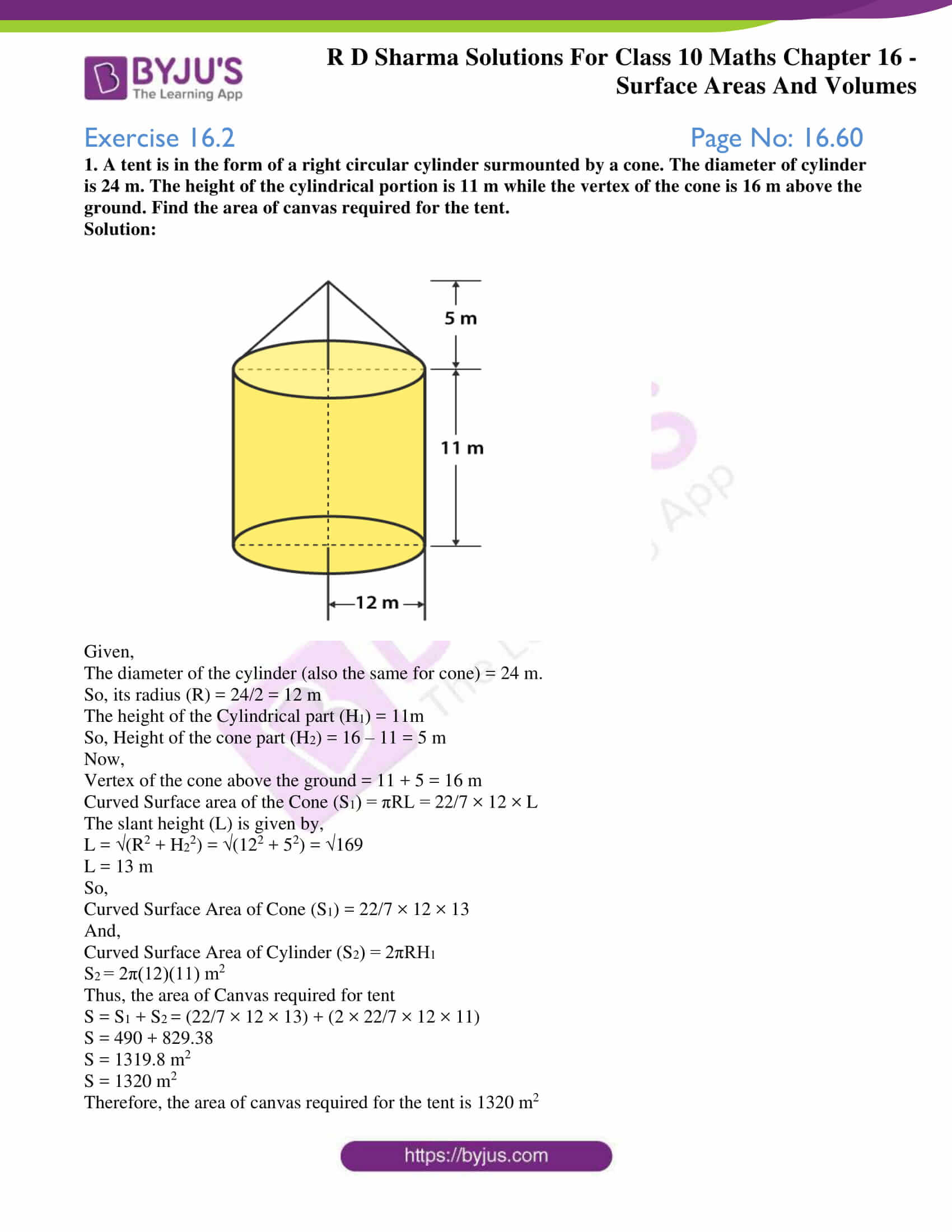 rd sharma solutions class 10 chapter 16 exercise 2
