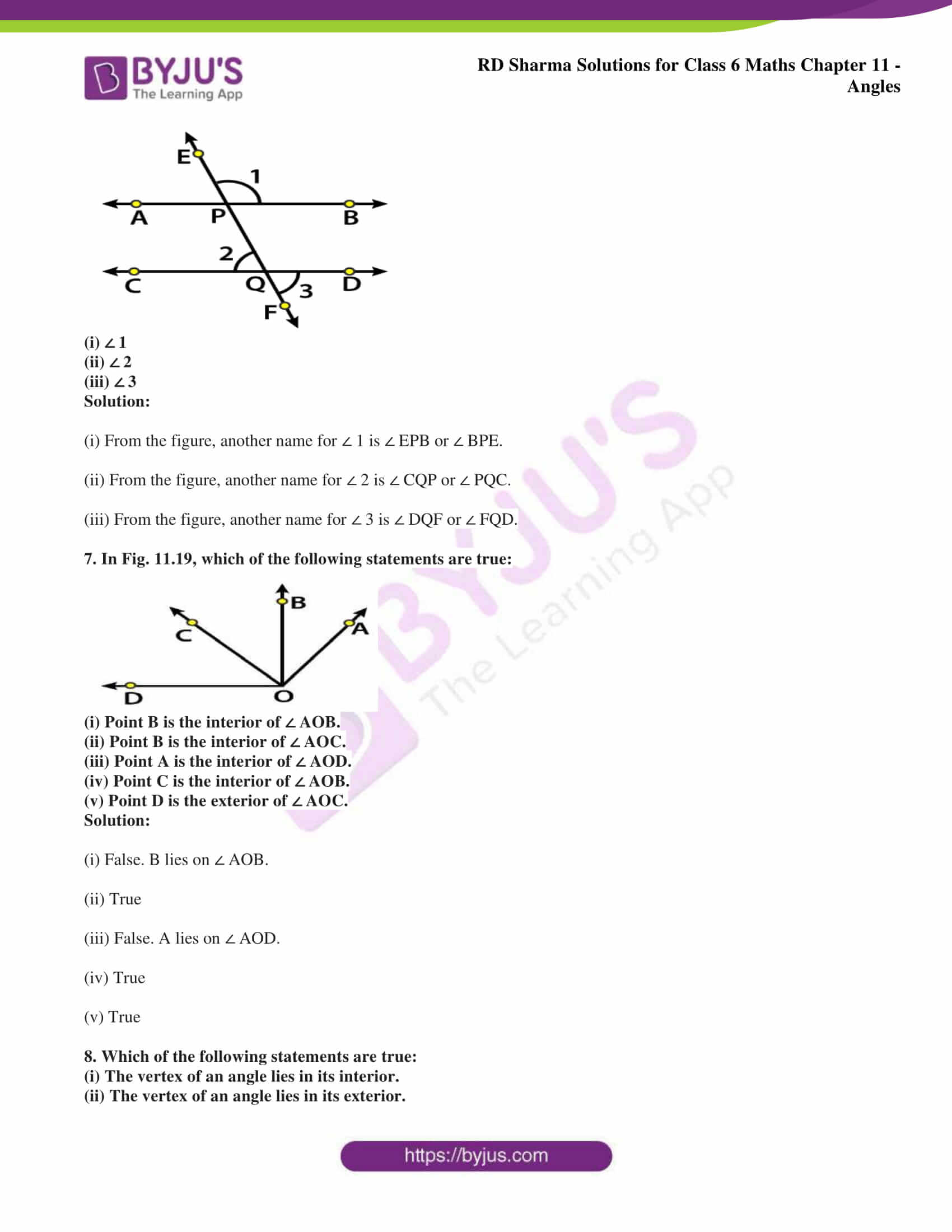 rd sharma solutions class 6 maths chapter 11 Exercise 11.1 03