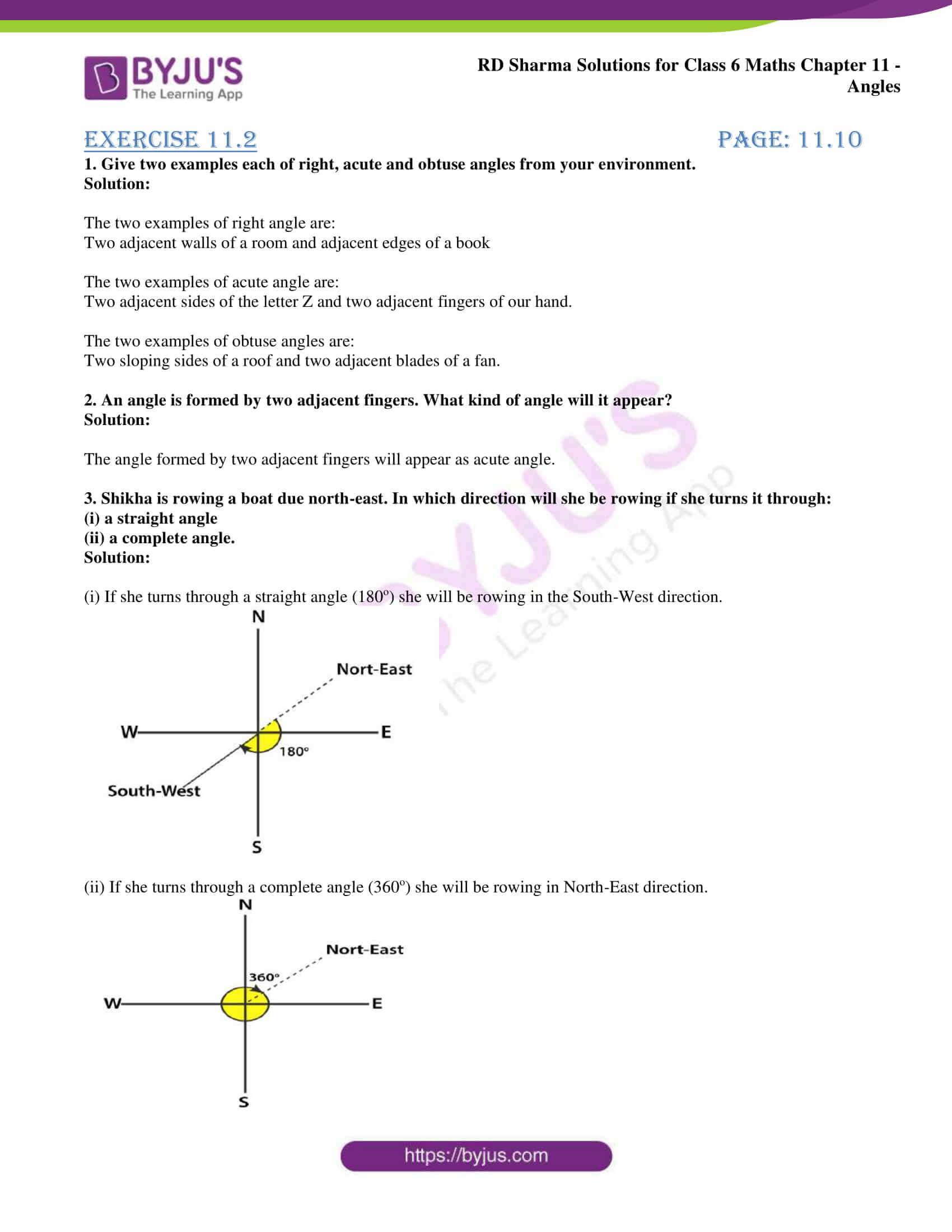 rd sharma solutions class 6 maths chapter 11 Exercise 11.2 06