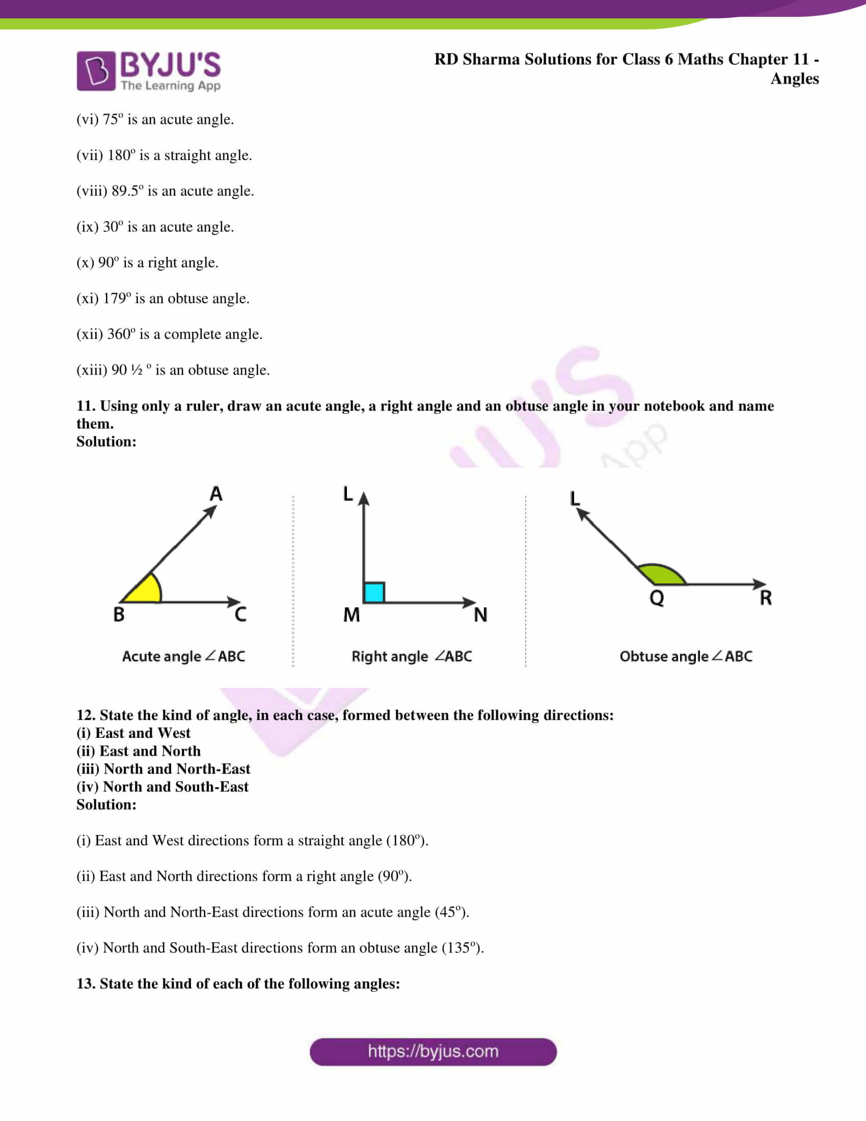 rd sharma solutions class 6 maths chapter 11 Exercise 11.2 09