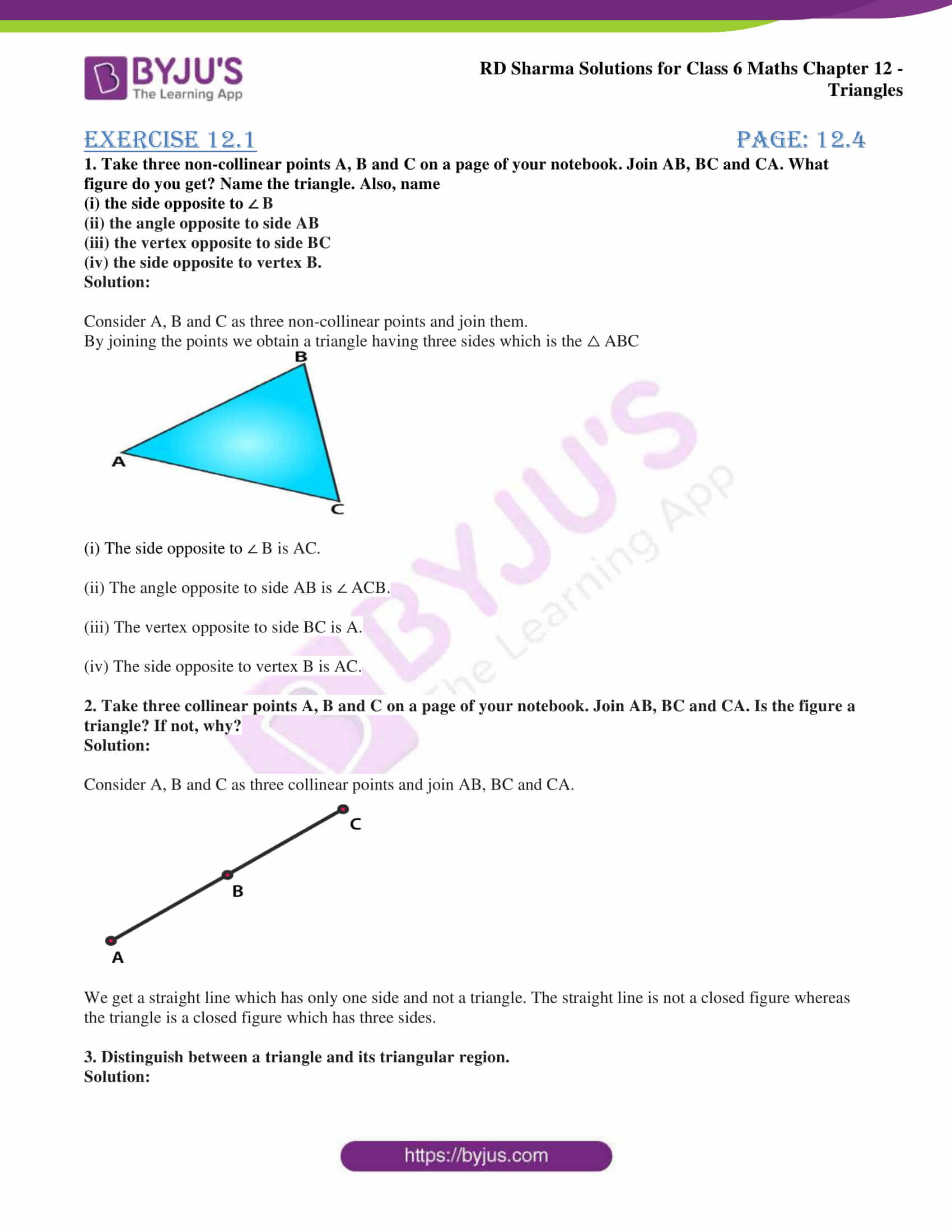 rd sharma solutions class 6 maths chapter 12 1