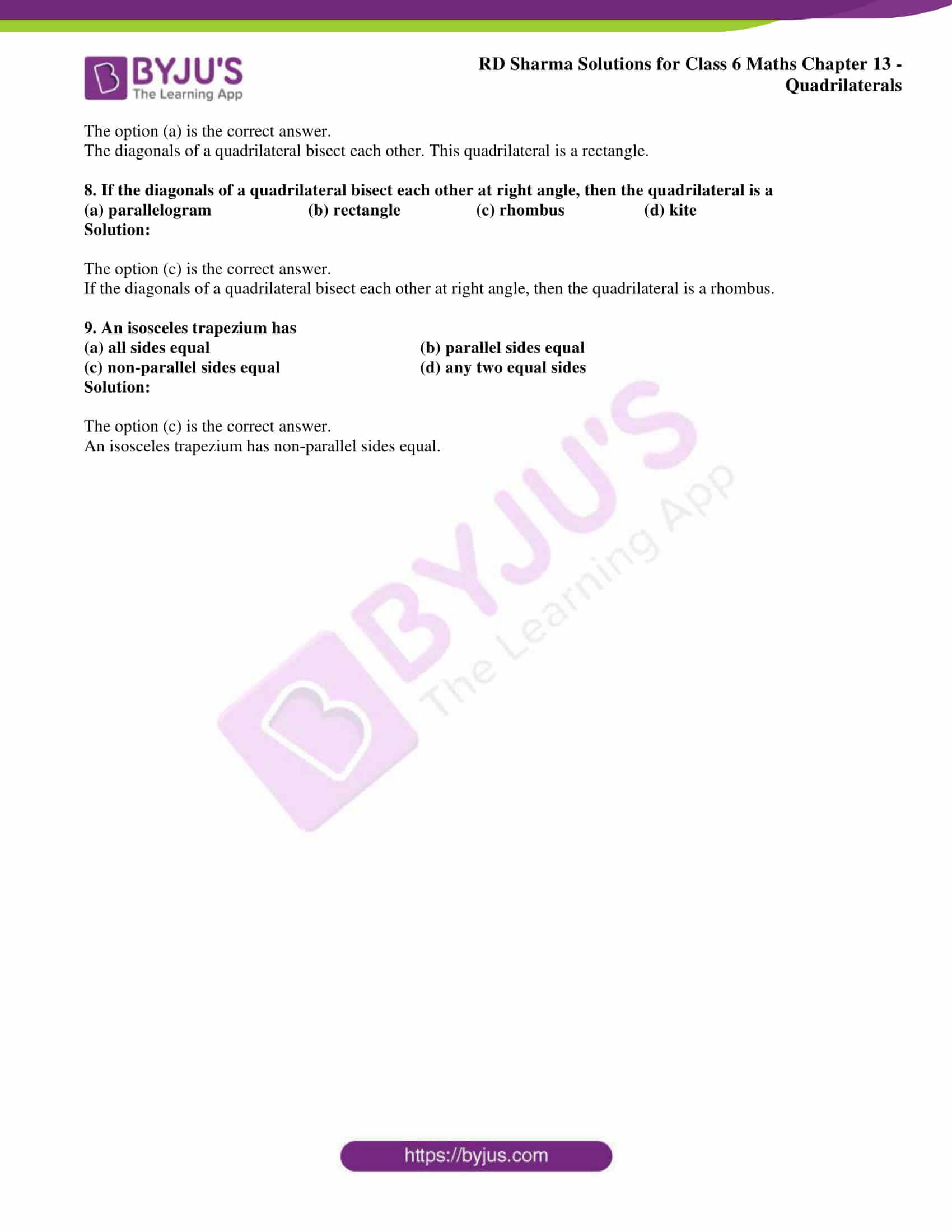 rd sharma solutions class 6 maths chapter 13 2